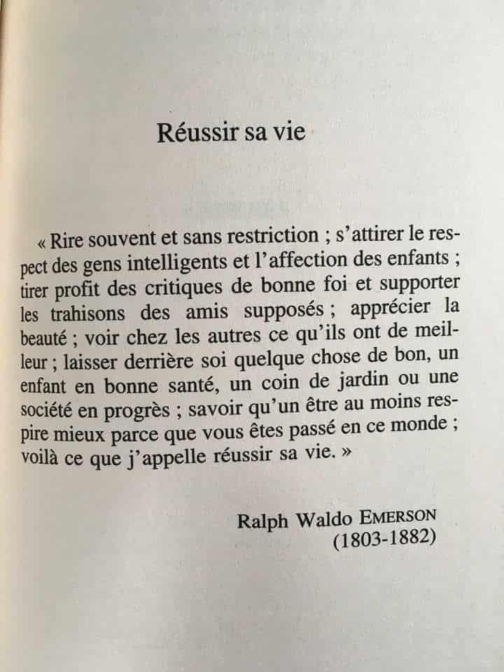 Inspirant.fr 19875500_1373024192766543_7444140336656022345_n La Réussite selon Ralph Waldo Emerson