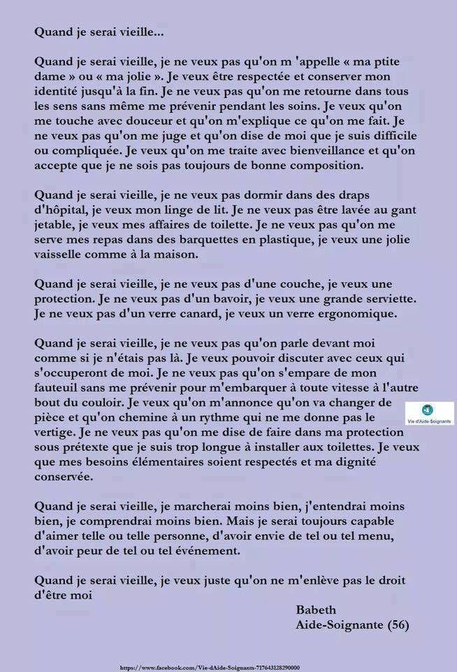 Inspirant.fr 21751322_1515025285224763_8149321712807836637_n Quand je serai vieille...