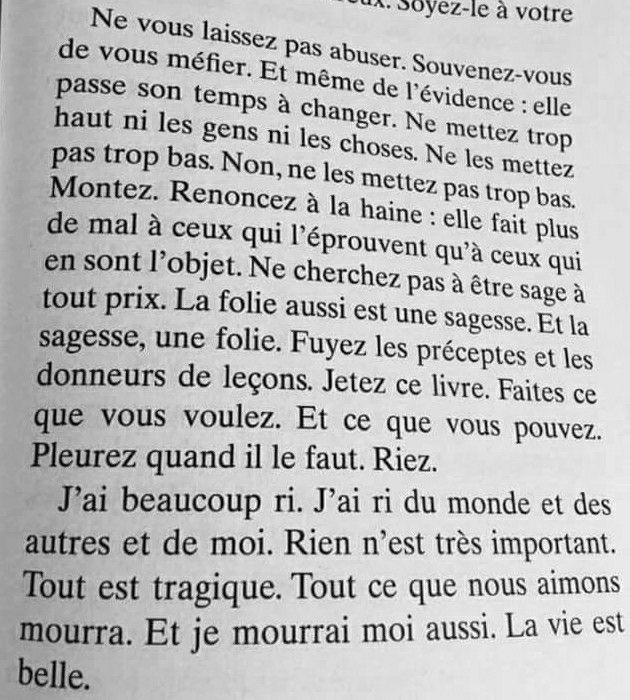 Jean D Ormesson Ne Vous Laissez Pas Abuser