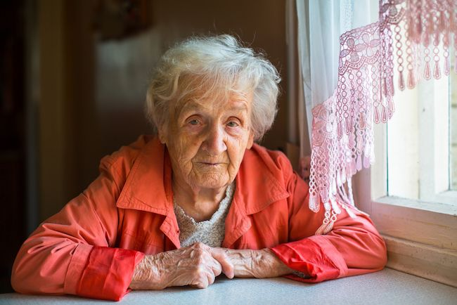 dame de 92 ans