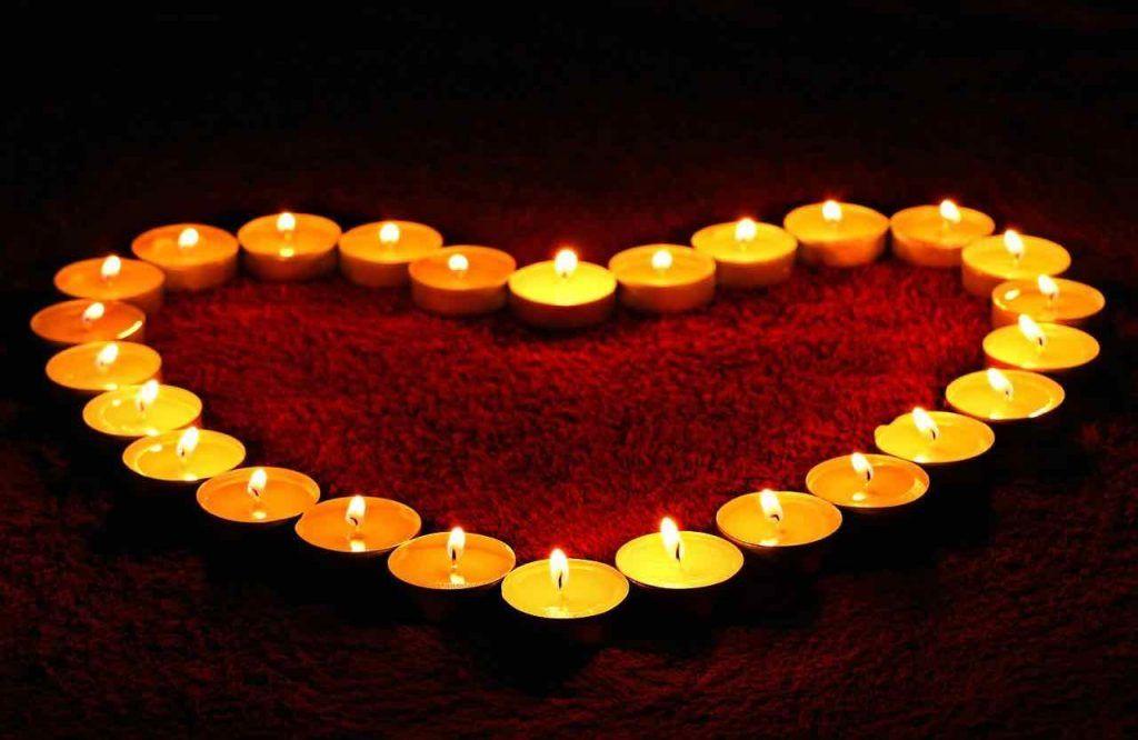 flamme de l'amour