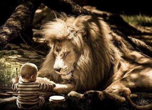 gourou et le petit enfant