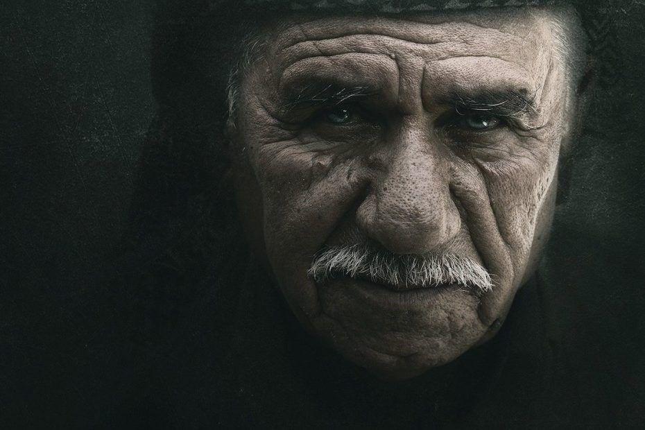 vieil homme sage